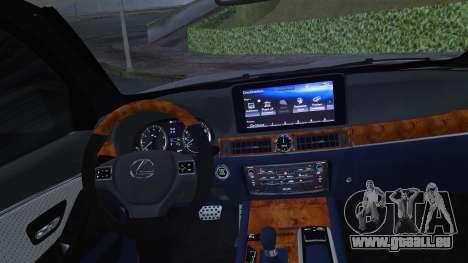 Lexus LX570 2016 pour GTA San Andreas vue de côté