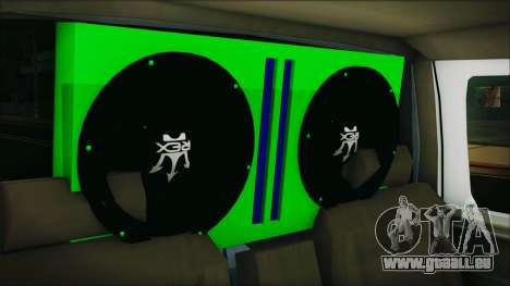 Ford F-150 Con Sonido für GTA San Andreas Rückansicht