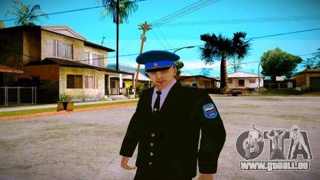 L'employé du Ministère de la Justice v1 pour GTA San Andreas