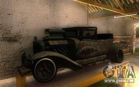 Albany Frenken Stange Rusty Edition für GTA San Andreas linke Ansicht
