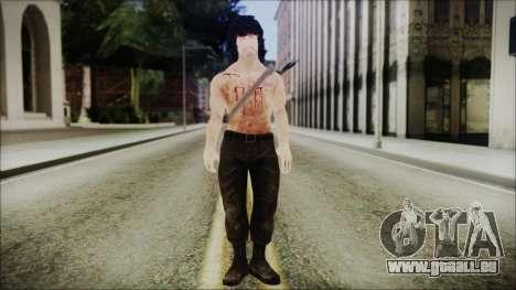 Rambo Skin für GTA San Andreas zweiten Screenshot