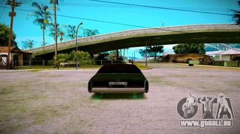 Cadillac Fleetwood Brouhman 1985 für GTA San Andreas rechten Ansicht