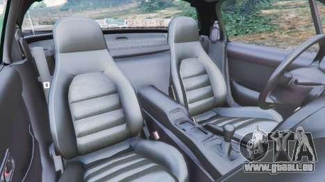 GTA 5 Mazda Miata MX-5 droite vue latérale