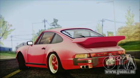 Porsche 911 Turbo 3.3 Coupe (930) 1986 für GTA San Andreas linke Ansicht