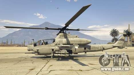 GTA 5 AH-1Z Viper zweite Screenshot