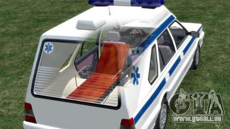 Daewoo-FSO Polonez Cargo Krankenwagen 1999 für GTA 4 Räder