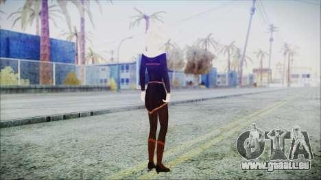 Elsa Black Outfit für GTA San Andreas dritten Screenshot