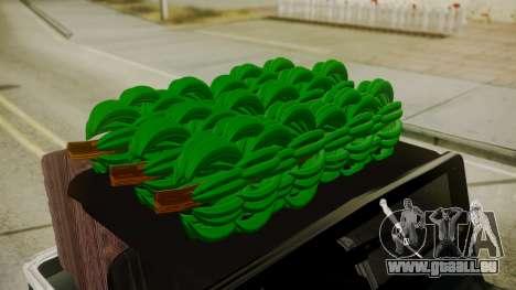 Jeep Willys Cafetero pour GTA San Andreas vue de droite