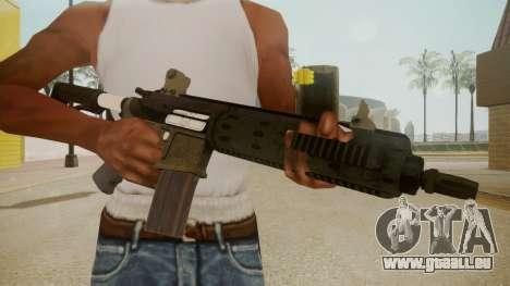 GTA 5 M4 für GTA San Andreas dritten Screenshot