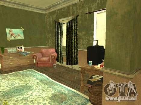 Appartement de GTA IV pour GTA San Andreas sixième écran