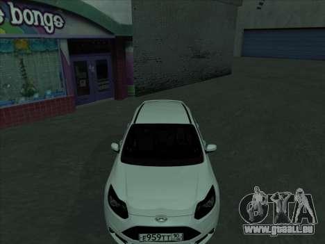 Ford Focus ST à fanons pour GTA San Andreas vue de côté