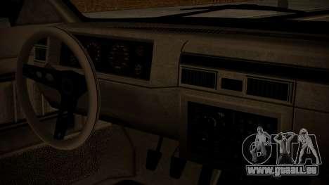GTA 5 Faction Stock DLC LowRider pour GTA San Andreas vue arrière