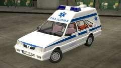 Daewoo-FSO Polonez Cargo Krankenwagen 1999 für GTA 4