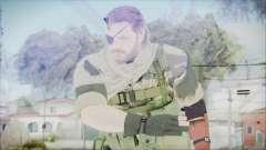 MGSV Phantom Pain Snake Scarf Tiger
