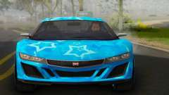 Dinka Jester (GTA V) Blue Star Edition