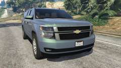 Chevrolet Suburban 2015 [unlocked]