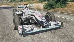 Mercedes-Benz MGP W01 [Michael Schumacher] v1.1