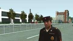 Der Sergeant der KKS in der form der neuen Probe