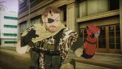 MGSV Phantom Pain Snake Scarf Animals