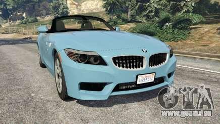 BMW Z4 sDrive28i 2012 pour GTA 5