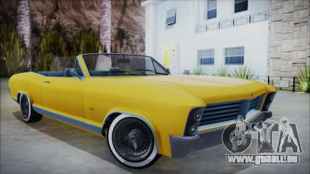 GTA 5 Albany Buccaneer Custom pour GTA San Andreas