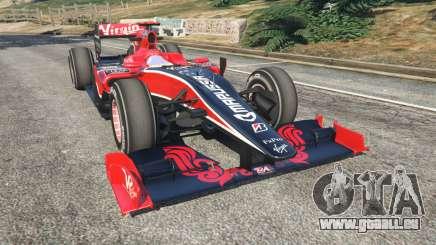 Virgin VR-01 [Timo Glock] v1.1 pour GTA 5