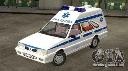 Daewoo-FSO Polonez Fret Ambulance 1999 pour GTA 4