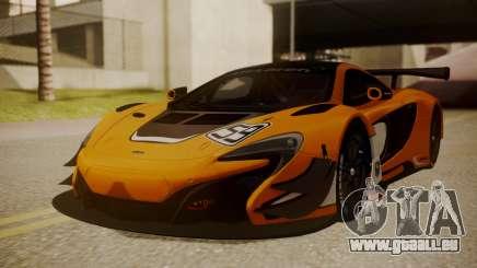 McLaren 650S GT3 2015 pour GTA San Andreas