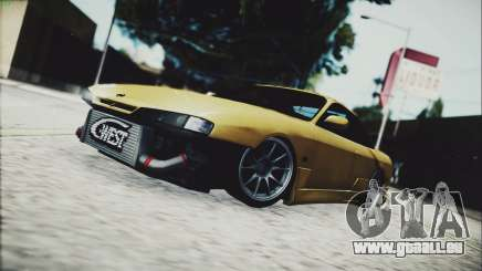 Nissan Silvia s14 by TheFlem pour GTA San Andreas