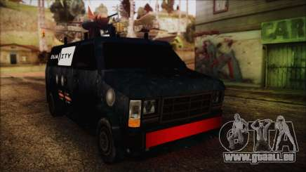 Duality Van - Furgoneta Duality für GTA San Andreas