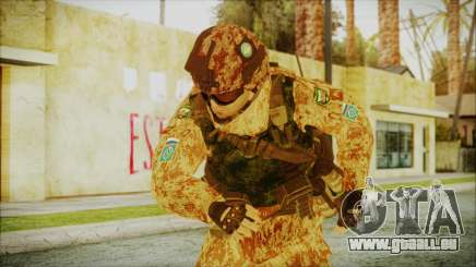 MW2 Russian Airborne Troop Desert Camo v1 pour GTA San Andreas