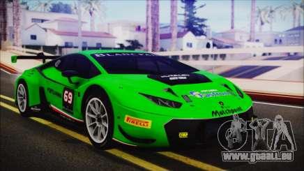 Lamborghini Huracan 610-4 GT3 2015 pour GTA San Andreas