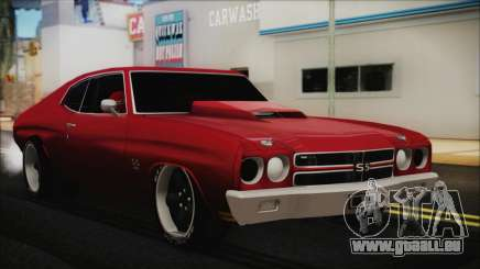 Chevrolet Chevelle Drag Car pour GTA San Andreas