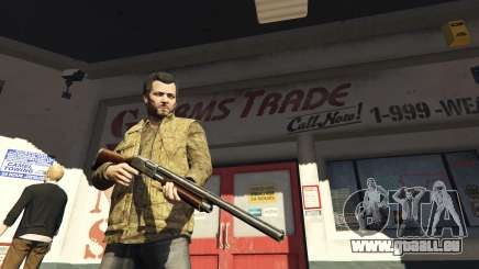 Remington 870e für GTA 5