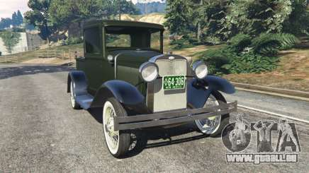 Ford Model A Pick-up 1930 pour GTA 5