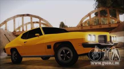 Pontiac Lemans Hardtop Coupe 1971 IVF АПП pour GTA San Andreas
