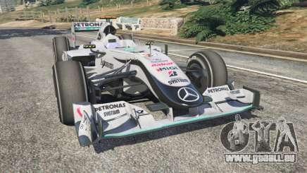 Mercedes-Benz MGP W01 [Michael Schumacher] v1.1 pour GTA 5