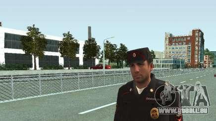 Le Sergent de SPA dans la forme de la nouvelle de l'échantillon pour GTA San Andreas