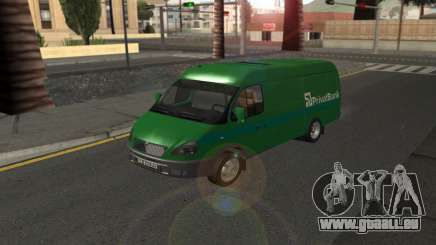 GAZelle 2705 Privat v2 pour GTA San Andreas