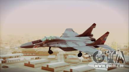 Mikoyan-Gurevich MIG-29A Russian Air Force pour GTA San Andreas
