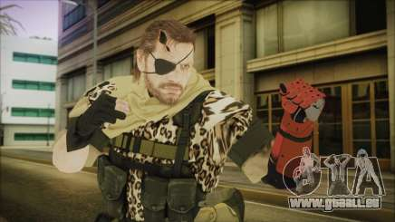 MGSV Phantom Pain Snake Scarf Animals für GTA San Andreas
