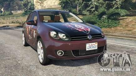 Volkswagen Golf Mk6 v2.0 [Slipknot] für GTA 5