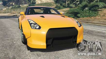 Nissan GT-R (R35) [LibertyWalk] für GTA 5