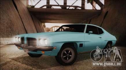 Pontiac Lemans Hardtop Coupe 1971 pour GTA San Andreas