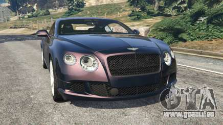 Bentley Continental GT 2012 v1.1 pour GTA 5