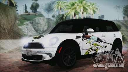 Mini Cooper Clubman 2011 Itasha pour GTA San Andreas