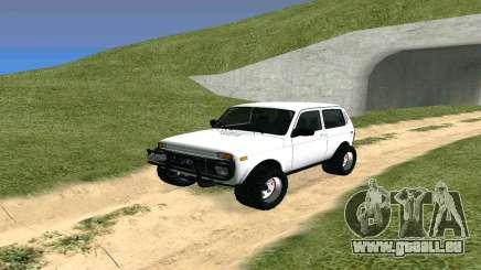 Lada Urban OFF ROAD pour GTA San Andreas