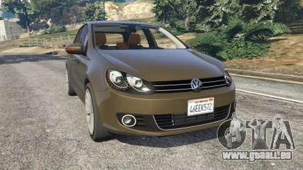 Volkswagen Golf Mk6 pour GTA 5