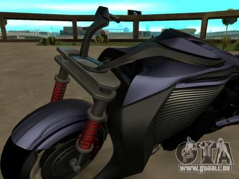 Krol Taurus concept HD ADOM v2.0 pour GTA San Andreas vue de droite