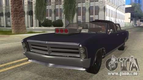 GTA 5 Albany Lurcher Cabrio Style für GTA San Andreas
